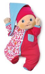 Baby Emma Cozy Pink Pajamas