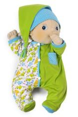 Baby Erik Cozy Green Pajamas